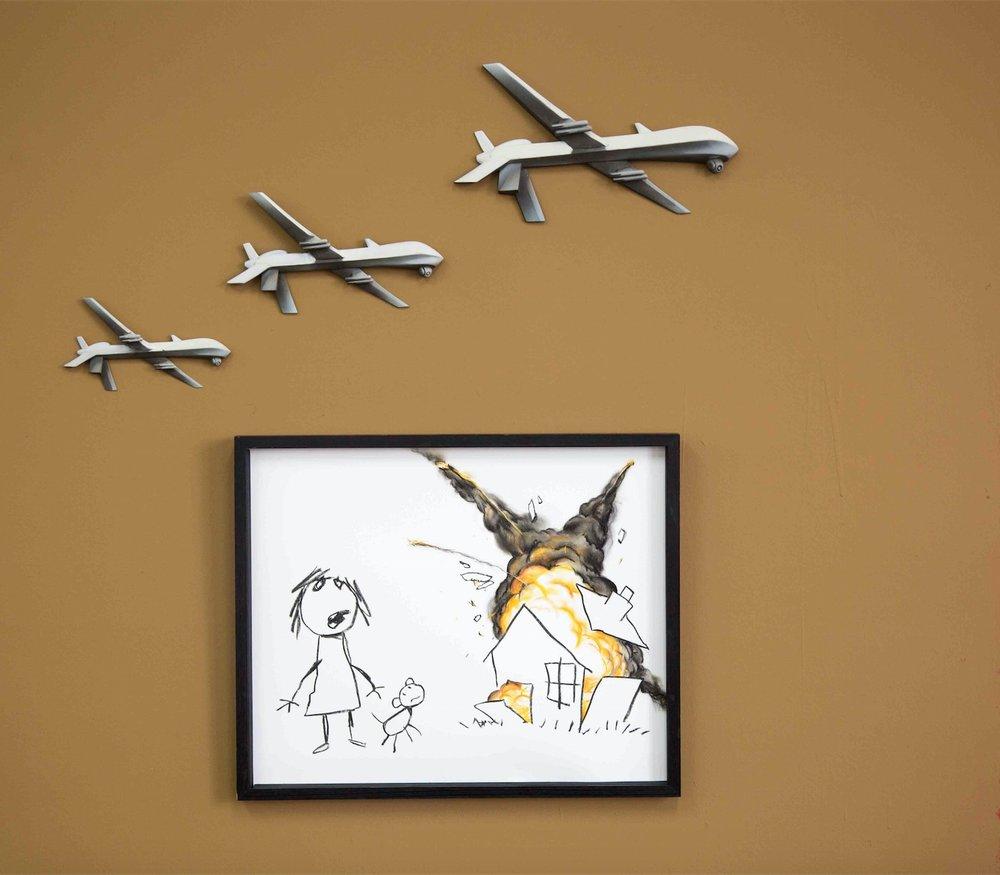 Banksy – 'Civilian Drone Strike'