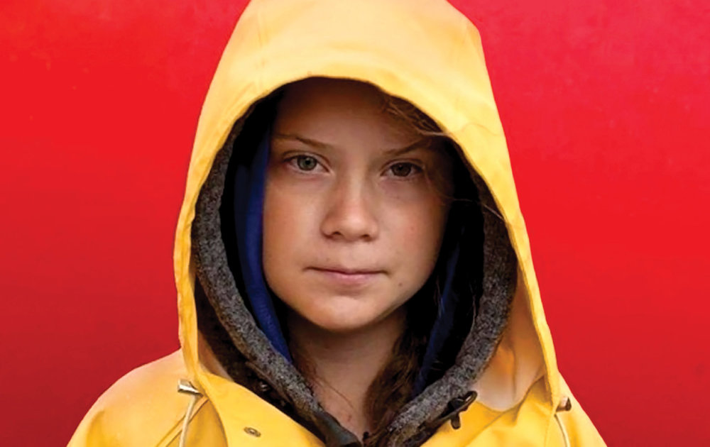 Greta Thunberg. Photo by Christian Charisius / AP Images