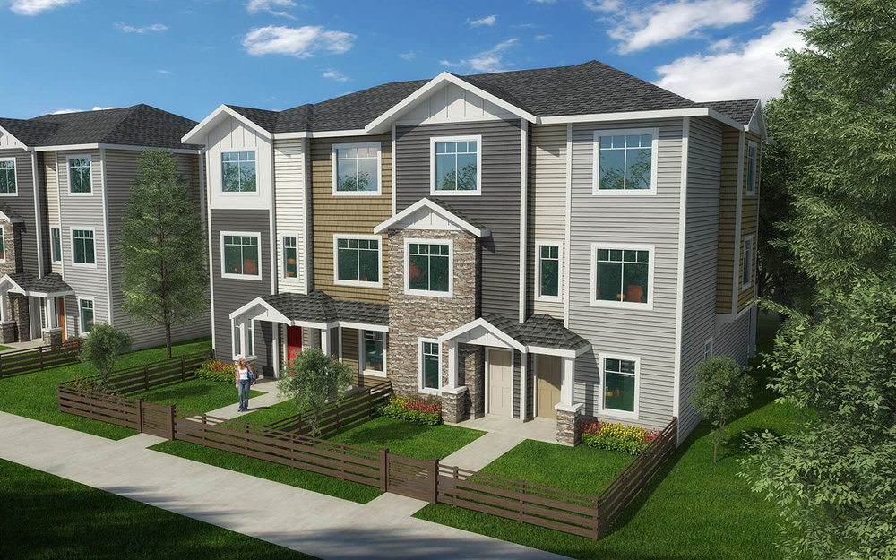 Heritage Townhome at Canals in Airdrie