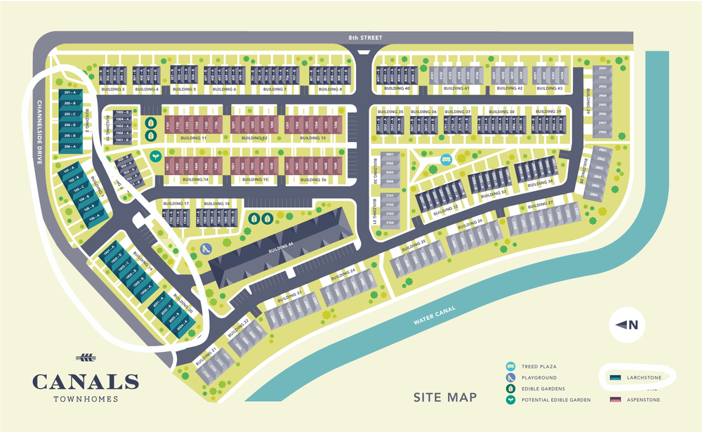 EXECUTIVE TOWNHOMES IN CANALS | Larchstone Townhomes open Sunday!