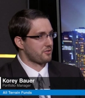 Korey Bauer Portfolio Manager for All terrain funds