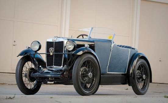 1930 MG M-Type Boat Tail Speedster