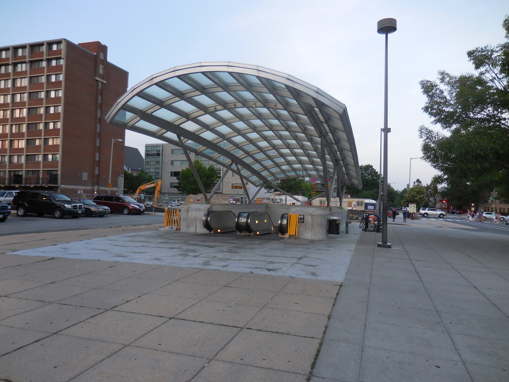 Shaw - Howard University Metro Stop