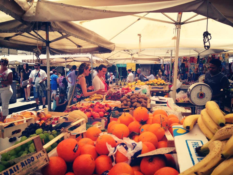 Mercato in Italy