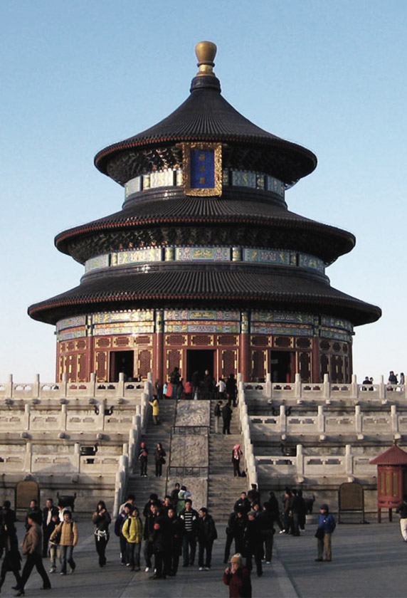 Temple of Heaven, Chinese Pagoda