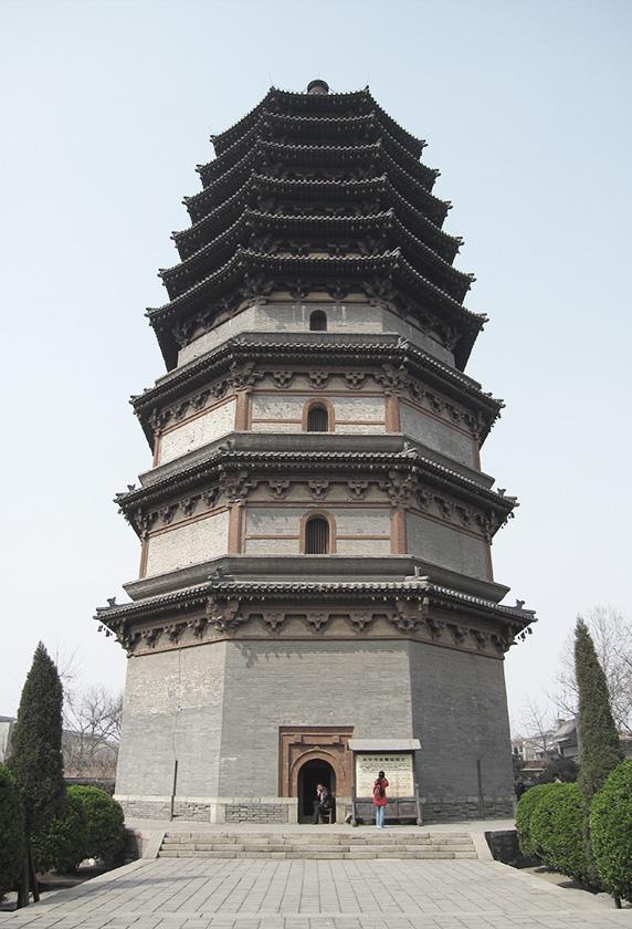 Lingxiao Chinese Pagoda 1100 AD