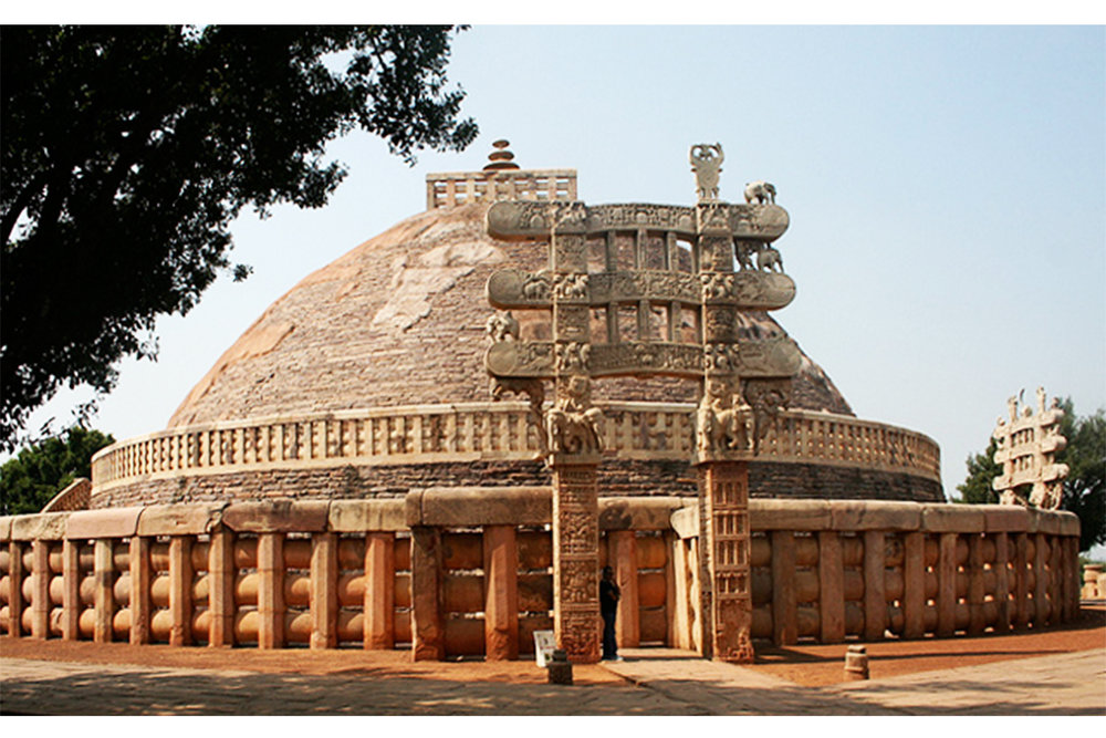The Great Stupa of Sanchi