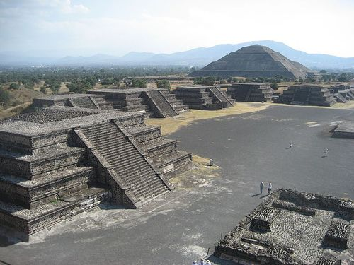 Ruins of Tenochtitlan - Aztec Capitol