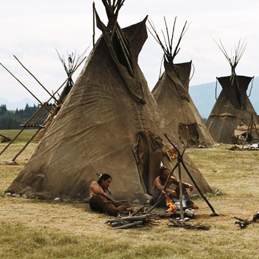Ottawa Tribe Tent