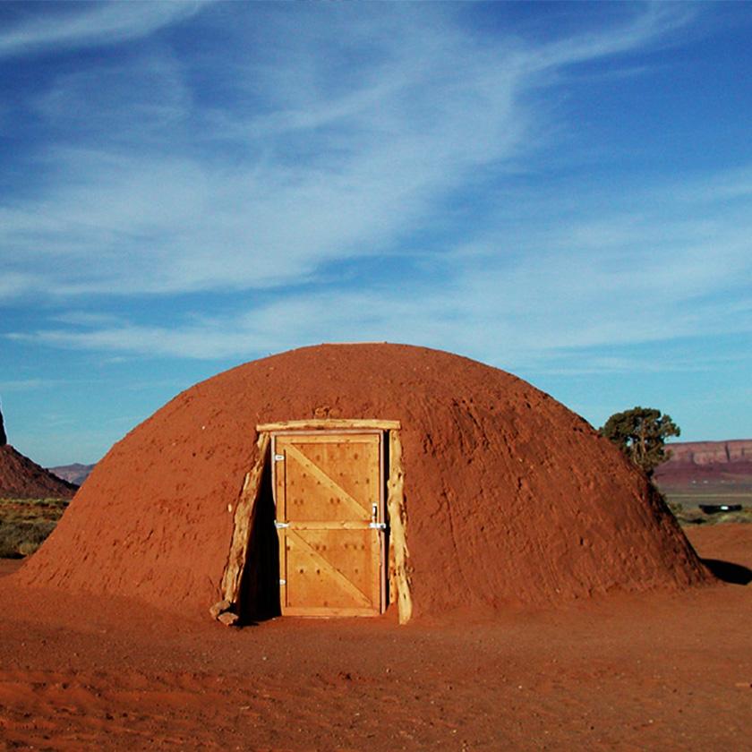 Navajo Tribe Hogan