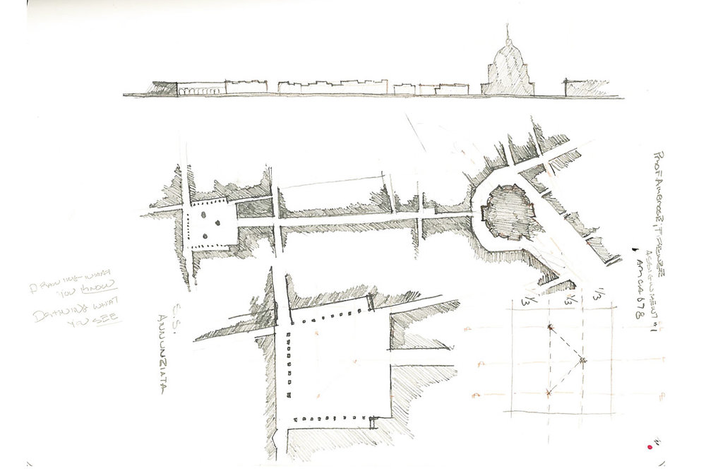 Urban Sketches of Santa Maria dei Fiori