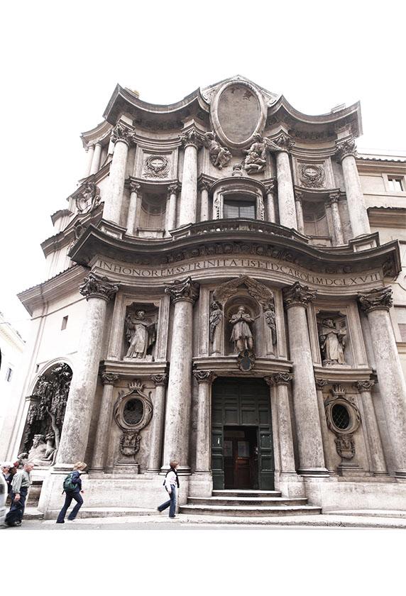 San Carlo Alle Quatro Fontane