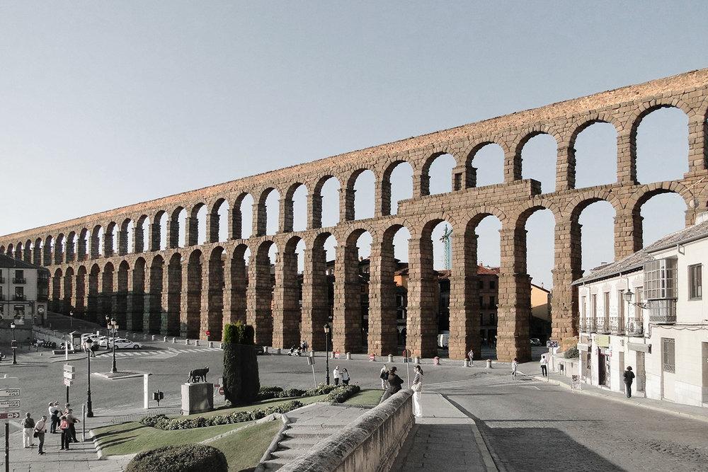 Roman Aqueduct - Rome