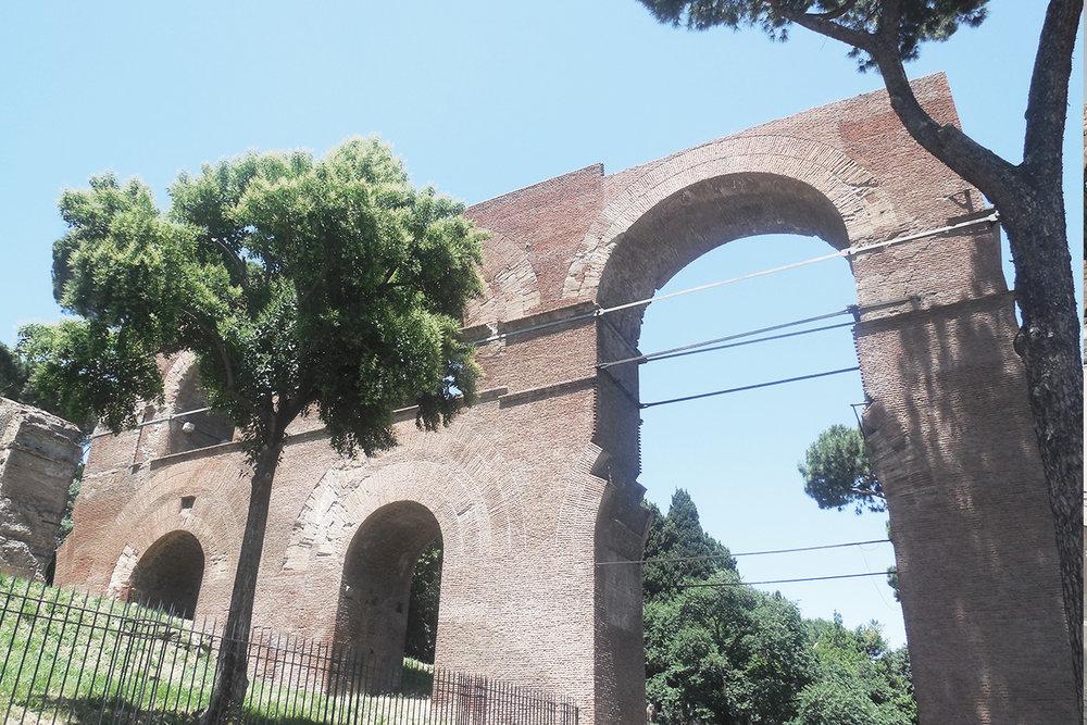 Roman Aqueduct - Spain