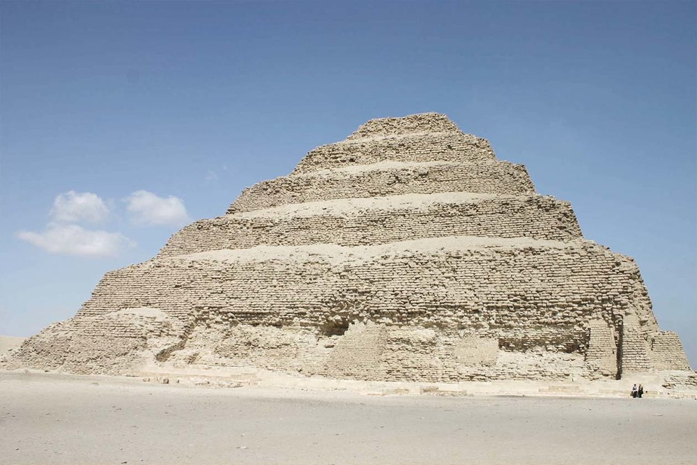 Stepped Pyramid of Djoser-2650 BC