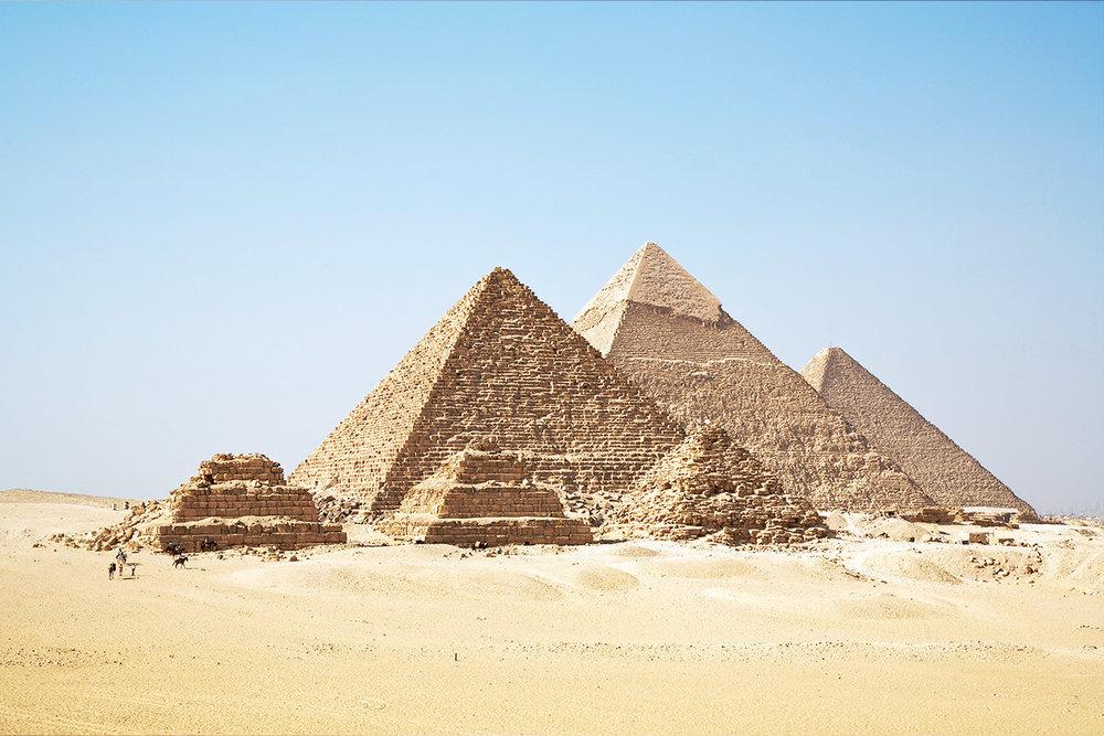 Giza Pyramids-2500 BC