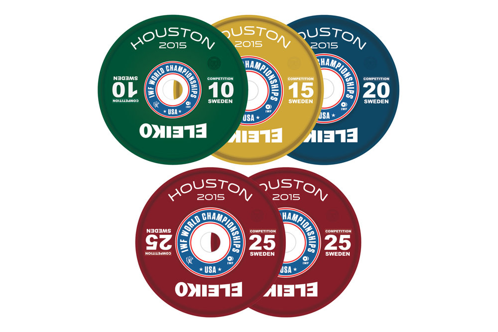 Co-Branded competition discs with hub decals.