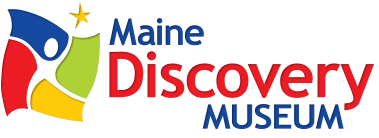 We are pleased to offer a one day pass (one per day) to the   Maine Discovery Museum  . The pass is good for one group of 2-4 people with at least one child. The pass is available on a first-come, first-serve basis to members of our library. It is good only for the date of issue, and patrons may use the pass once a month. Ask at the Children's Desk for more details.
