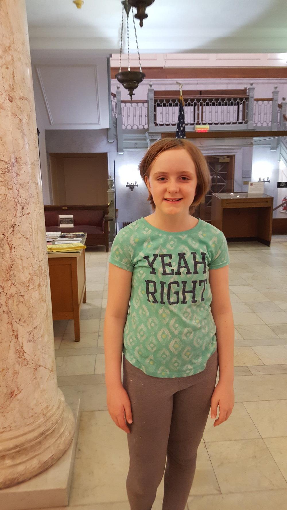 Jaeda, 1st Place – 5th Grade Student
