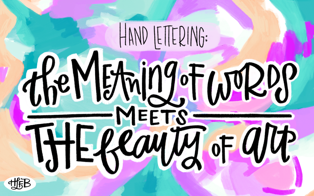 But The True Fun Of Lettering For Me Has Never Been About Trying To Perfect My Strokes Or Replicate A Flawlessly Beautiful Piece It Always