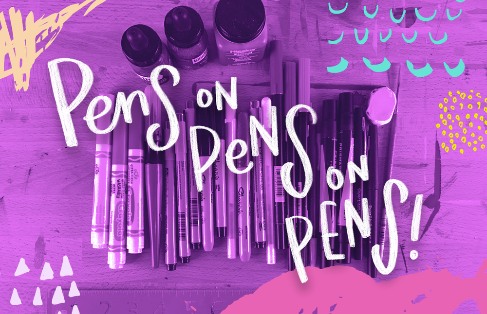 Hand lettering tools worth investing in when you're getting started