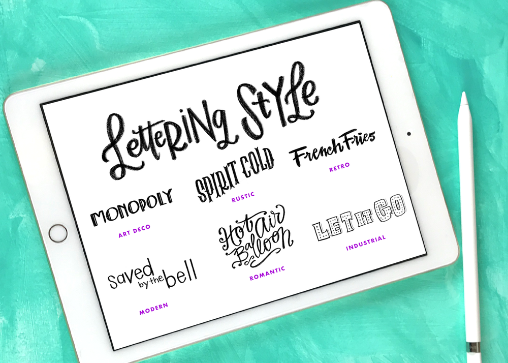 An Introduction To Creating Lettering Styles With Details Hand For Beginners