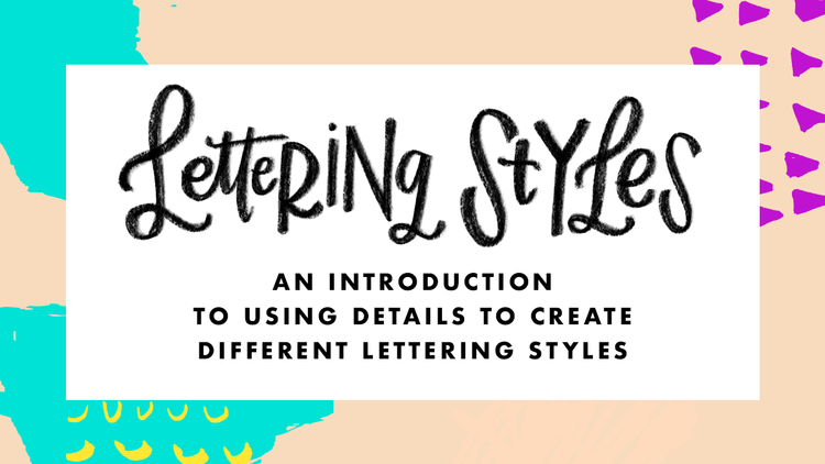 Welcome To My FAVORITE Topic When It Comes Hand Lettering Styles