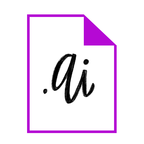 Ai (Adobe Illustrator File): This format will allow you to save your original vector artwork which will be easily editable within Illustrator, should you need to make changes in the future.