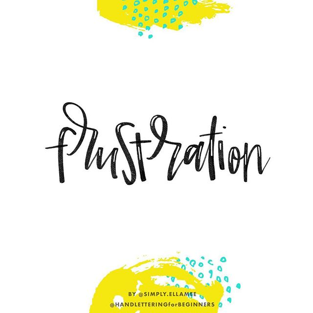 "#BetterLetteringCourse Challenge Day 30/31: ""Frustration"" (#LetterYourFeelingsMay)⠀⠀ .⠀ ""You're frustrated because you keep waiting for the blooming of flowers of which you have yet to sow the seeds."" ― Steve Maraboli⠀ - @simply.ellamee ⠀ .⠀⠀⠀⠀ Join us in the challenge and you could win a prize pack of lettering goodies worth over $130! More details here: handletteringforbeginners.com/challenge.⠀ .⠀ .⠀⠀ .⠀⠀ .⠀⠀ .⠀⠀ .⠀⠀ #handlettering #lettering #handlettering #letteringco #letteringart #digitalart #madebyhand #goodletters #handletteredtype #drawletters #digitalart #handletteringforbeginners #letteringchallenge #letteringchallenges #letteringstyles #letteringprocess #letteringprocessvideo #letteringtutorial #ipadart"