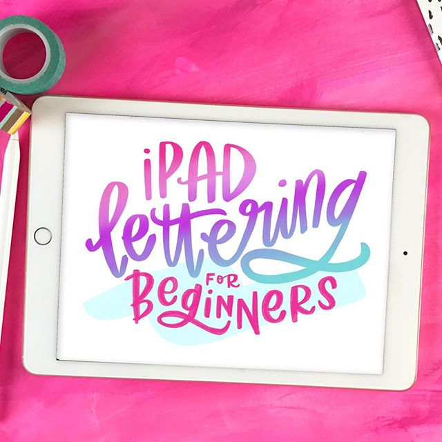Who's ready to get their #iPadLettering on?! The 18 video course launches today and is only available until Friday at 9pmPST. Head to the link in profile or ➡️handletteringforbeginners.com/ipad to get instant access.⠀ . ⠀ Click through to see a sampling of the different techniques and effects we'll go over in the course! ⠀ .⠀ Feel free to ask any questions about what's covered and what you need for the course. Other comprehensive iPad lettering courses I've seen are priced at over $150, but this course is only $45 and you learn EVERYTHING you need to know about lettering with the #ProcreateApp, #ApplePencil and #iPadPro! ⠀ .⠀ .⠀ .⠀⠀⠀ .⠀⠀⠀ .⠀⠀⠀ #ipadletteringforbeginners #letteringtutorial #learnlettering #handlettering #lettering #handlettering #letteringco #madebyhand #goodletters #handletteredtype #drawletters #digitalart #handletteringforbeginners