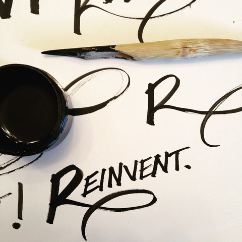 Lettering by Alma Hoffman on Hand Lettering for Beginners