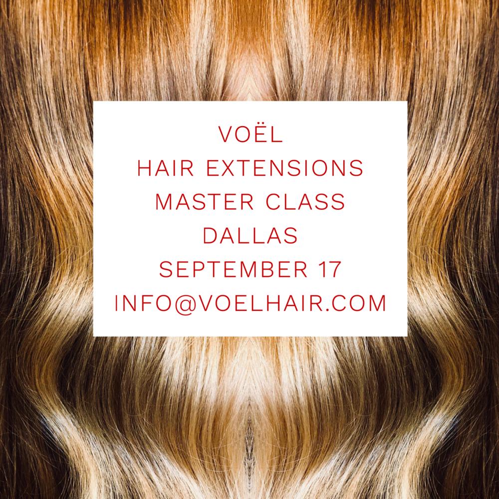 Dallas Master Class Vol Hair Extensions