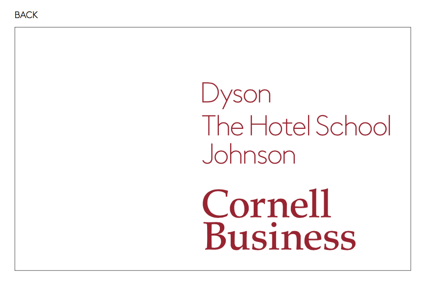 Branded templates cornell sc johnson college of business brand guide the charles h dyson school of applied economics and management colourmoves