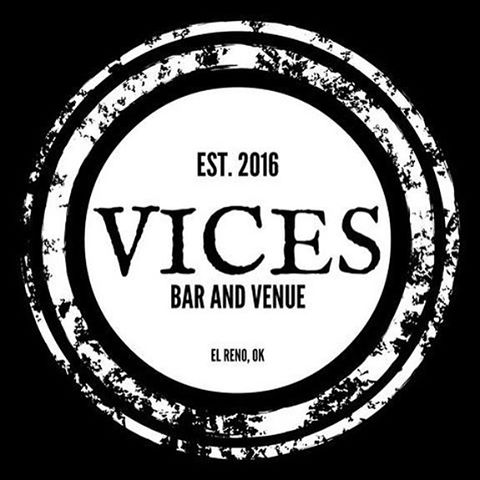 Excited to be playing at Vices in El Reno tonight 9-11!