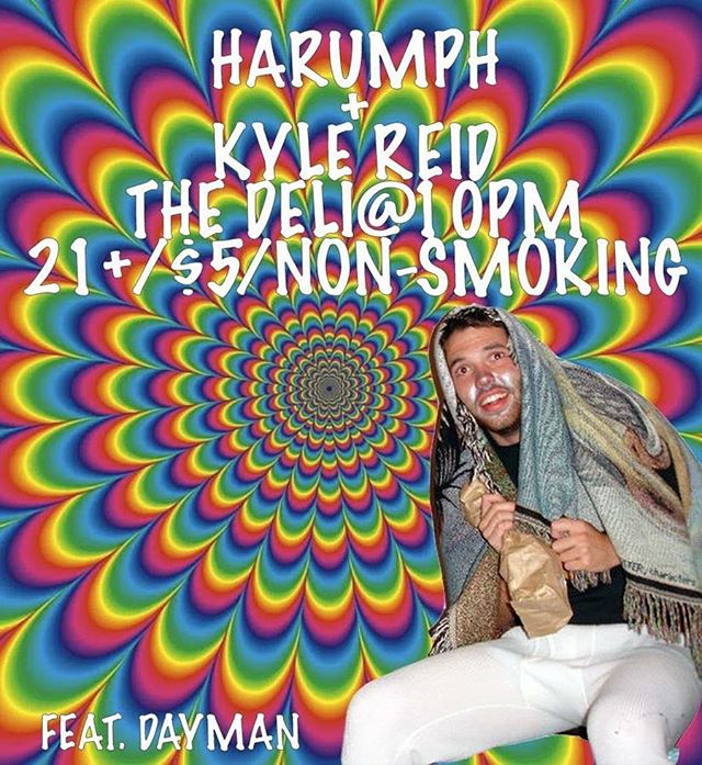 Tonight @thedeli_norman with @kylereidmusic and a bad version of @charliedayofficial
