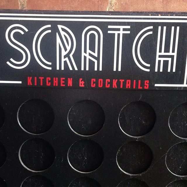We're back for brunch time. Tunes on the patio 11-1. Also mimosas on the patio. And connect 4. Bring it on.