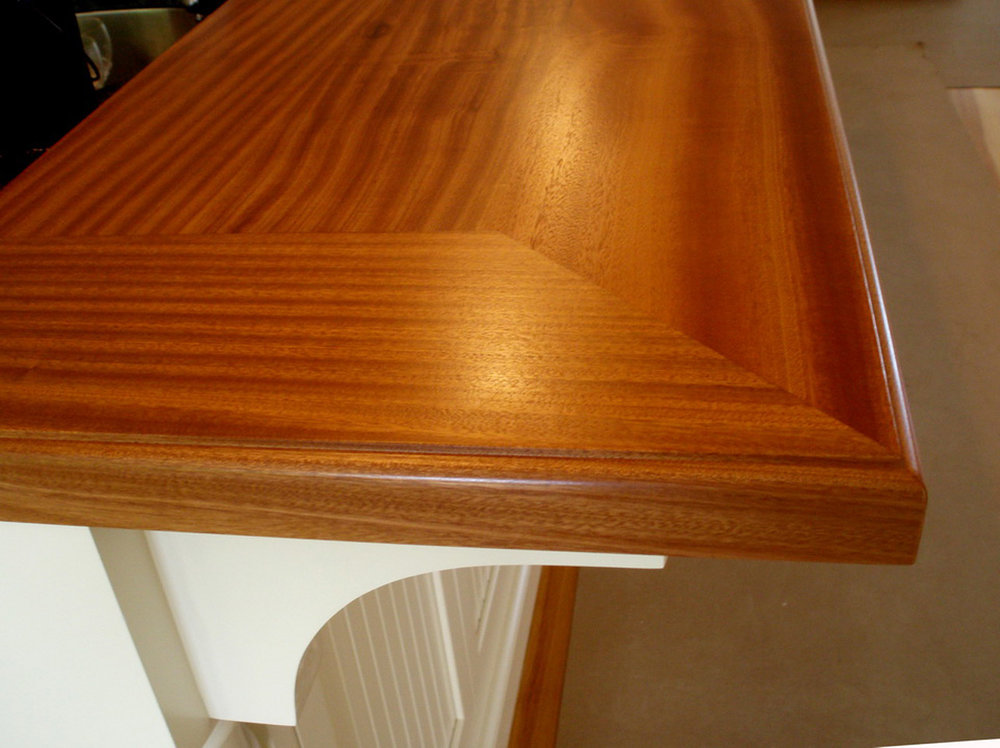 Mahogany Bar Top