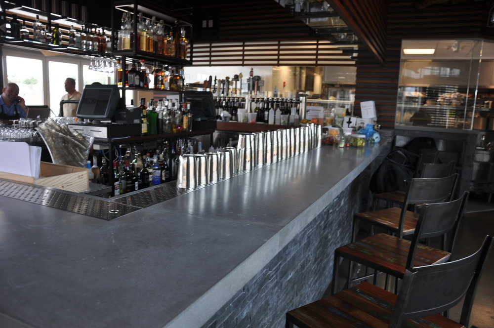 Commercial Concrete Bar Top