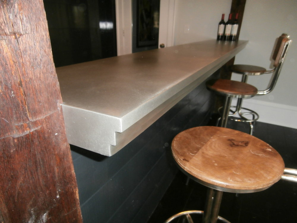 Pewter Bar Top