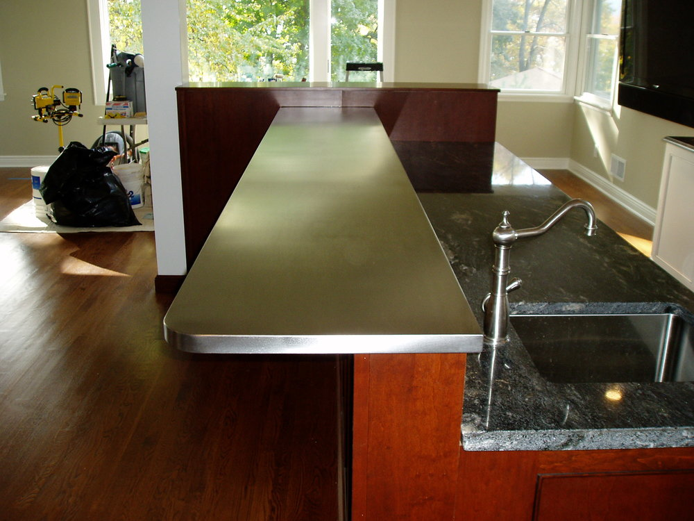 Exceptionnel Stainless Steel Bar Top