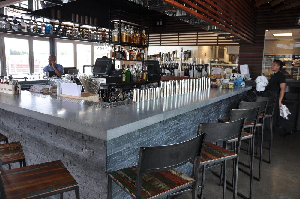 Concrete Bar Top for Paloma