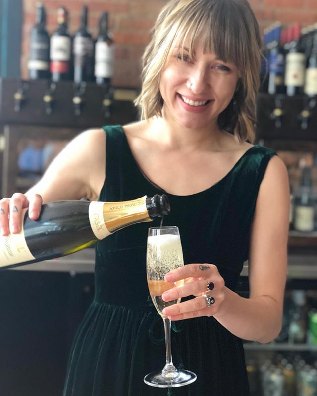 When it's a Good Friday always share it with some Prosecco! Come join us today on this nice breezy day. #goodfriday #asheveille #5walnutwinebar #5walnutcheesebar #asheville #828isgreat #avldowntown
