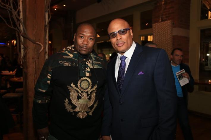 Derrick Hamilton and Shabaka Shakur.  Photo: Innocence Project/Mattedesign