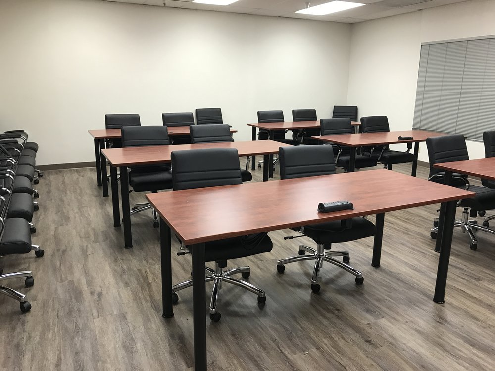 Extra large conference room - Classroom style setup