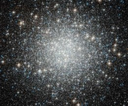 Blue Straggler Stars in Globular Cluster M53 by ESA/Hubble via NASA)