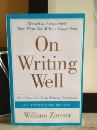 William Zissner's definitive book on nonfiction writing.