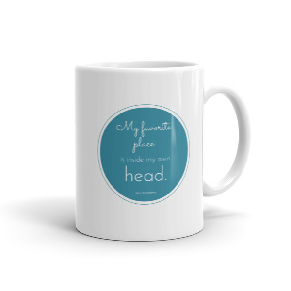 Sara Stansberry - In My Own Head Mug (white).jpg