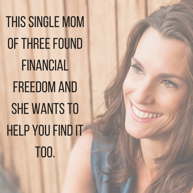 This single mom of three found financial freedom and she wants to help you find it too.png