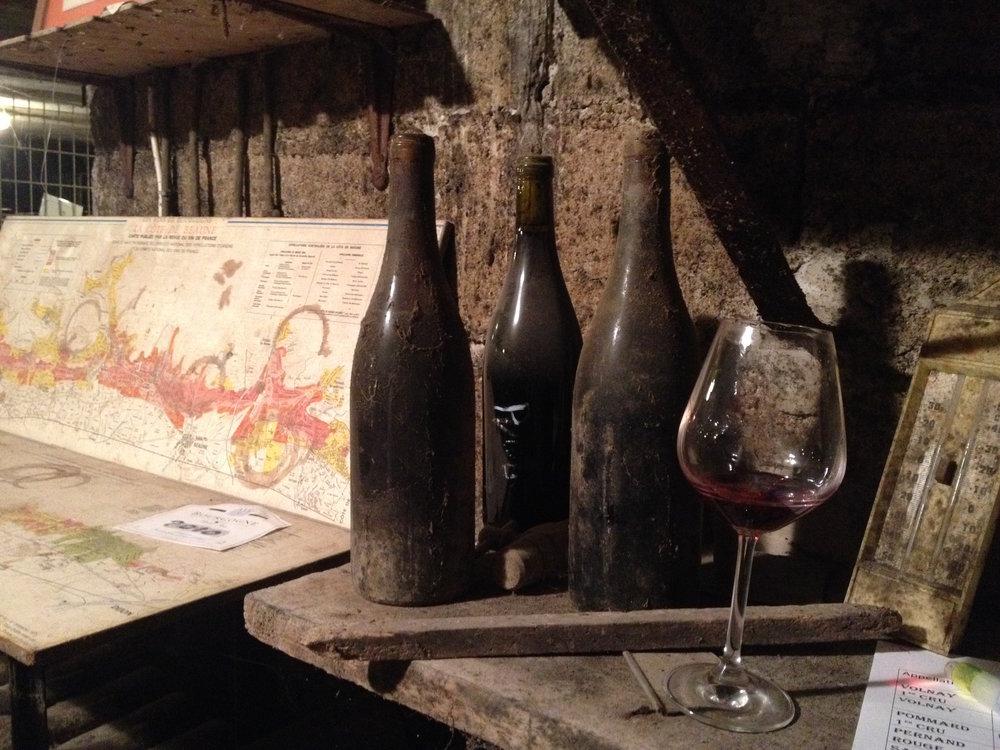 Wine tasting in Pommard