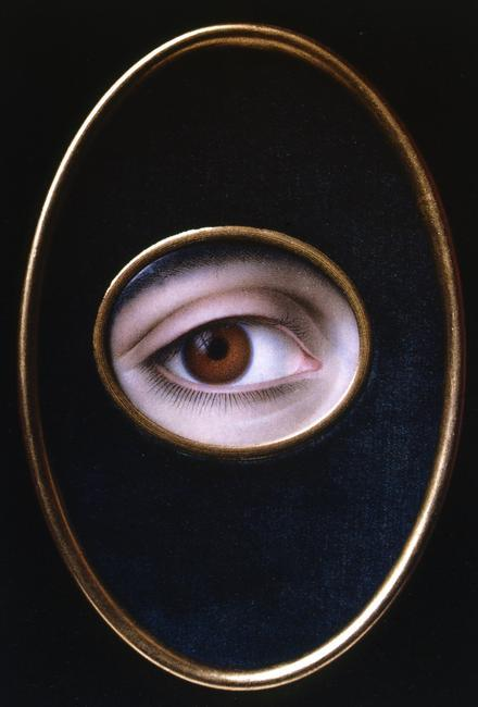 Joseph Sacco    Eye of a Young Woman   , 1844     Photo Credit:    HIP / Art Resource, NY     Image Reference :   AR924360